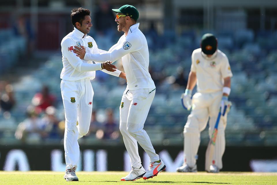 1st Test - Australia v South Africa: Day 5