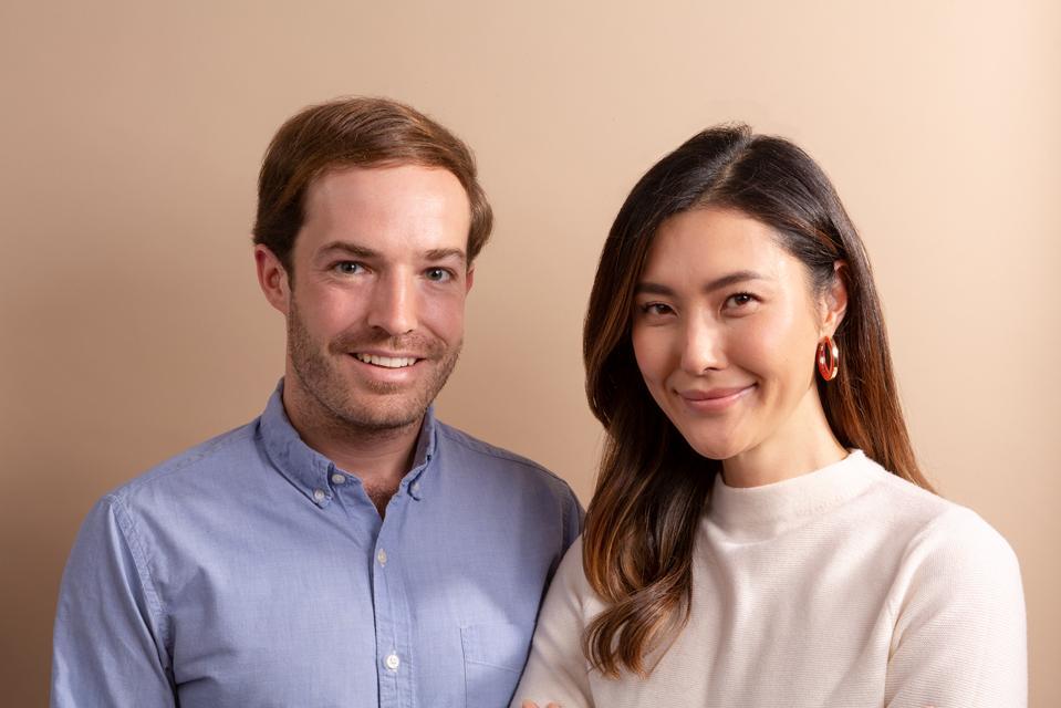 Kate Kim and Ryan Morgan, co-founders of rmdy