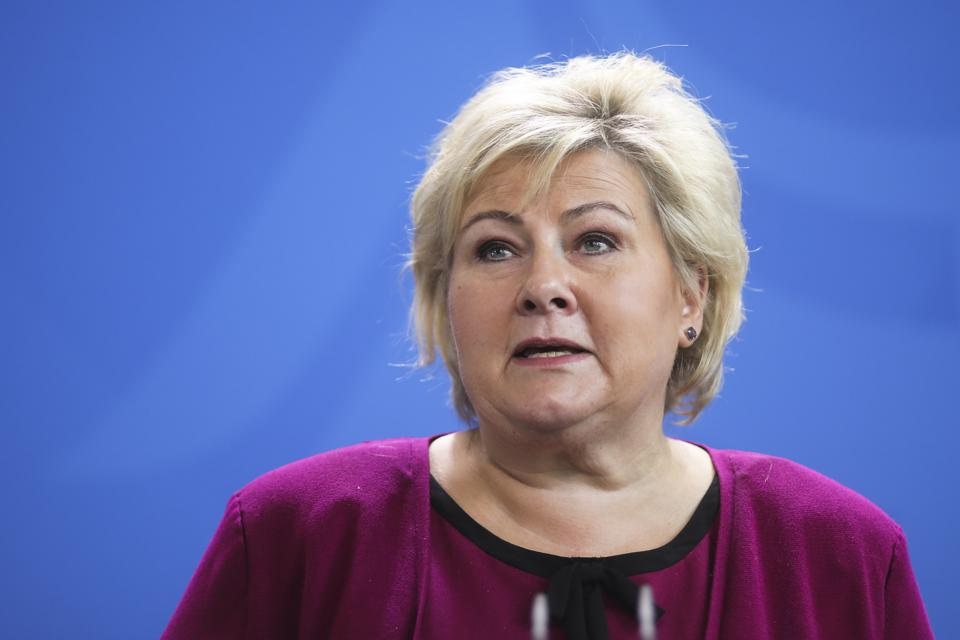 Prime Minister of Norway Erna Solberg