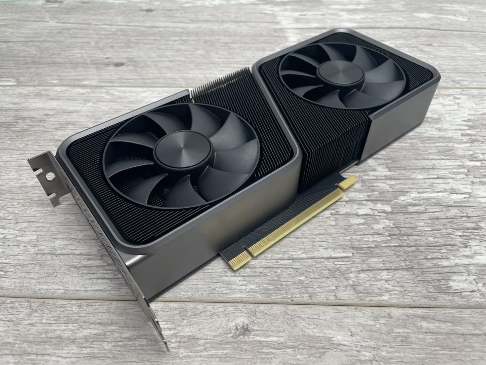 Nvidia's RTX 3070 is smaller and less power hungry than the RTX 3080