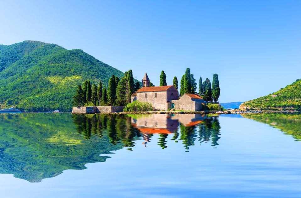St. George's island near Perast, Montenegro