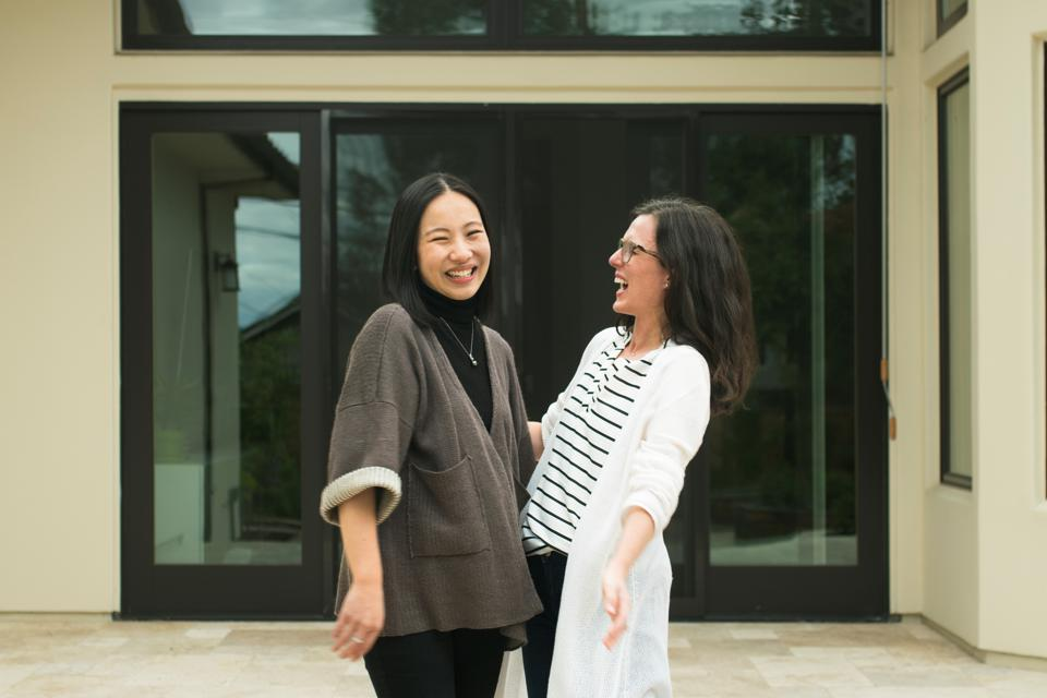 Hanna Chiou and Anne-Louise Nieto, founders of Habbi Habbi