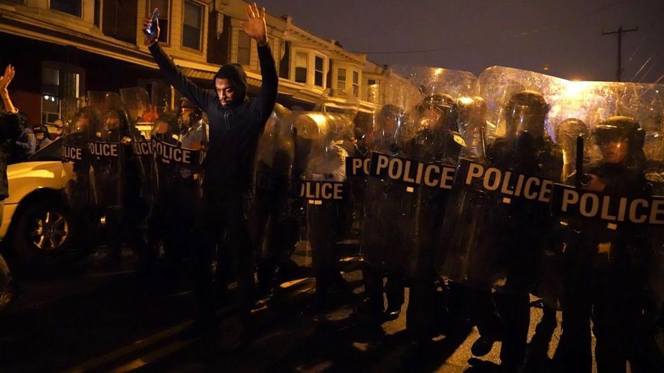 Philadelphia police protests