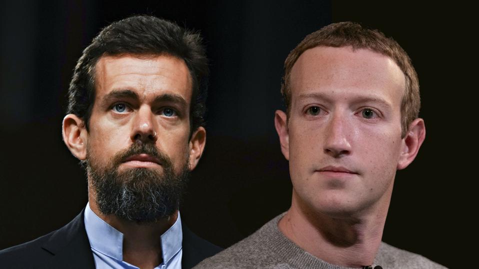 jack dorsey, twitter, mark zuckerberg, facebook