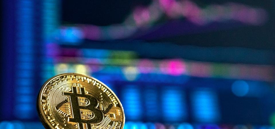 Bitcoin leaving stocks behind in performance.