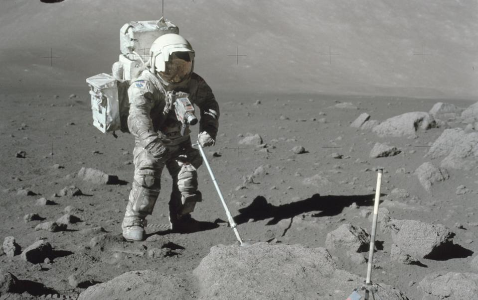 Sticky lunar dust defined the Apollo moon missions.
