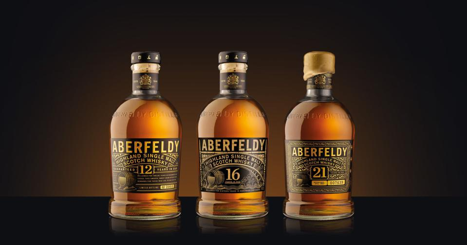The Aberfeldy core range
