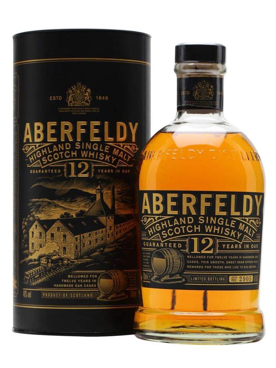 Aberfeldy 12 YO Single Malt Scotch Whisky