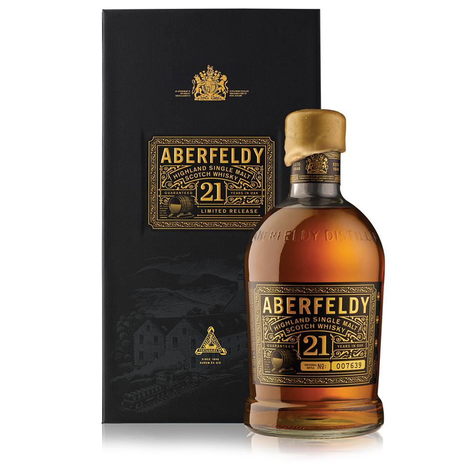 Aberfeldy 21 YO Single Malt Scotch Whisky
