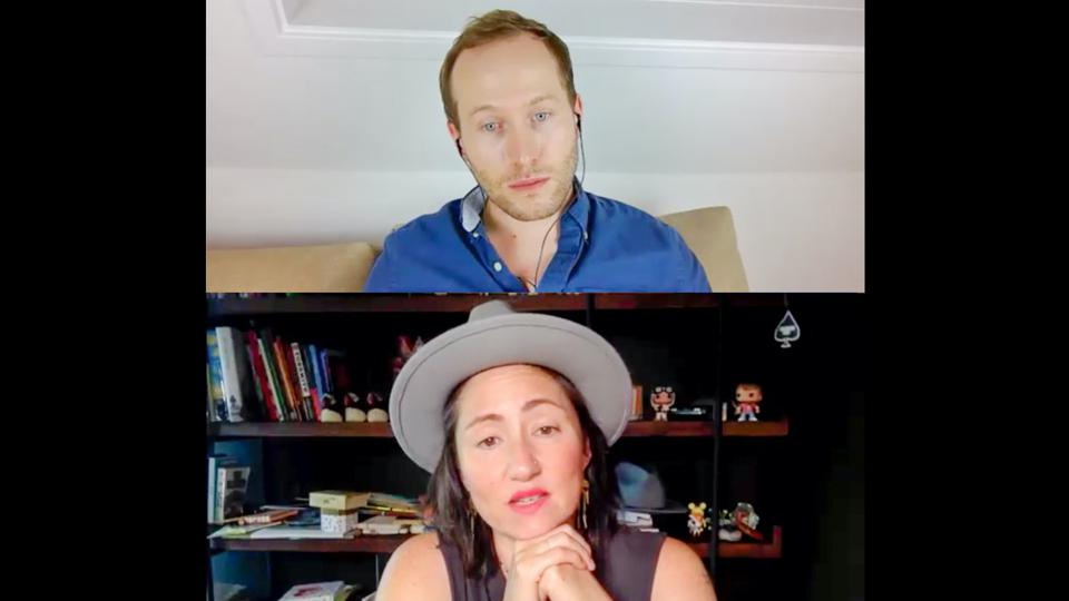 KT Tunstall on Zoom with Ben Laker.