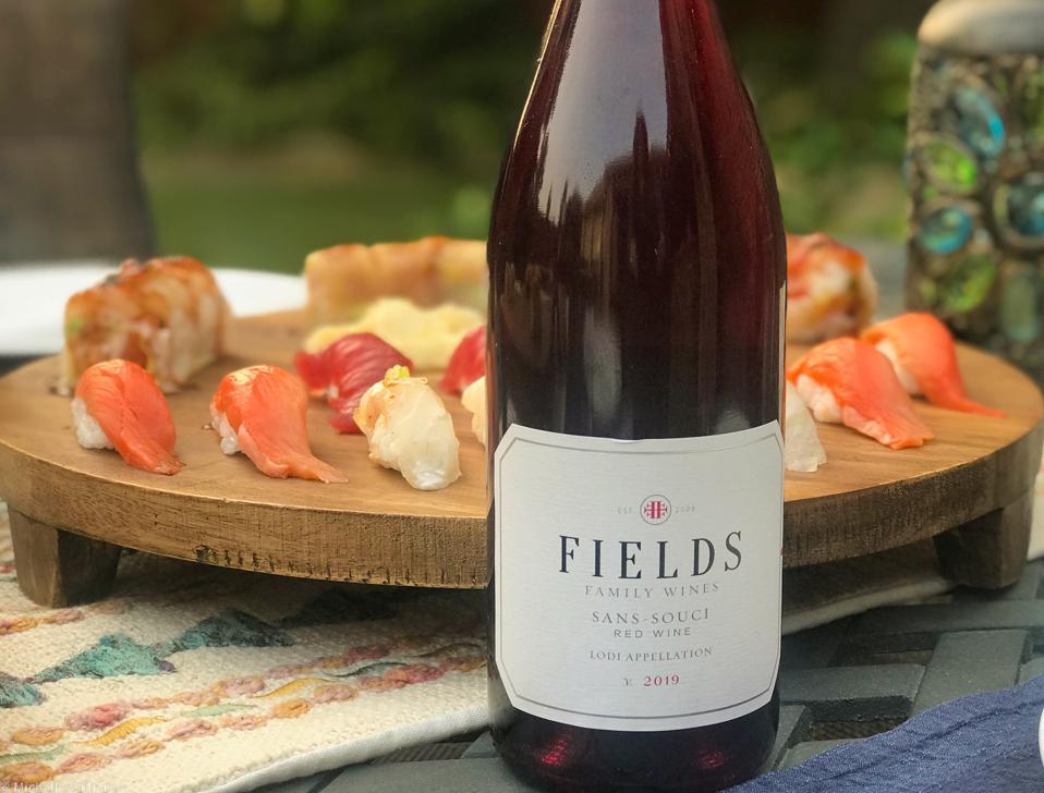 Fields Family 2019 Sans Souci red wine