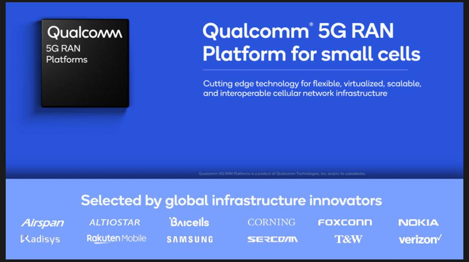Qualcomm Extends Its 5G Reach Into Infrastructure
