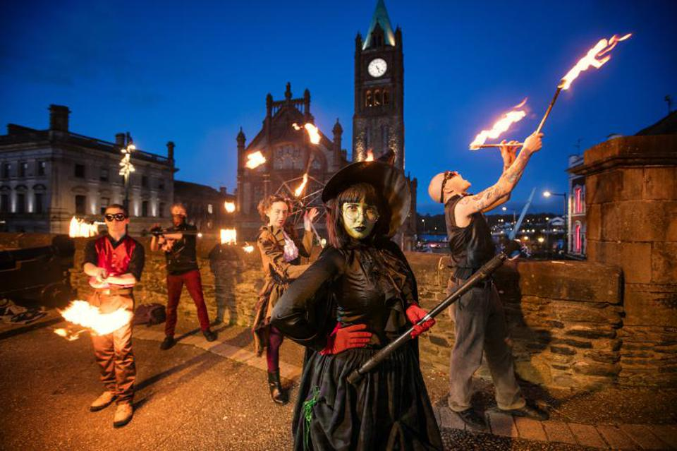 Halloween in Derry, voted one of best Halloween Festivals in the World