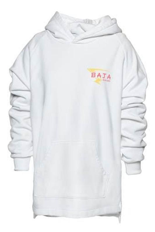 Baja East Bi-Level Hoodie with Baja Burger