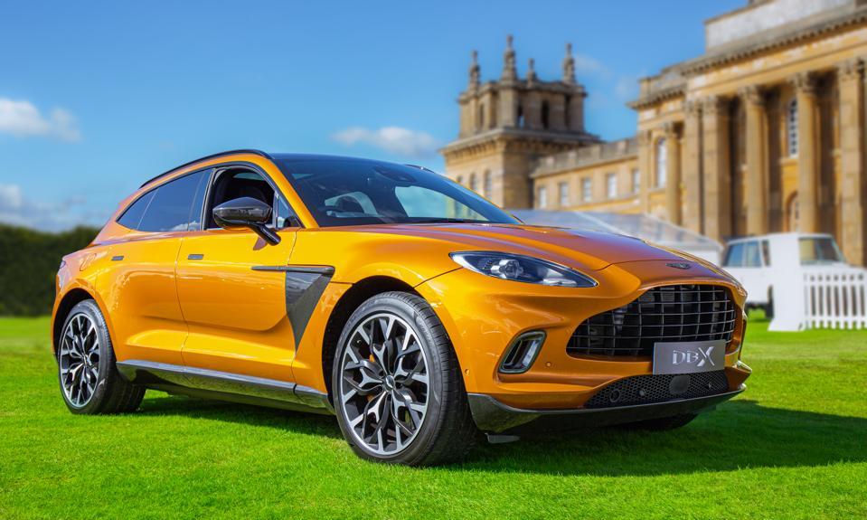 The Aston Martin DBX...