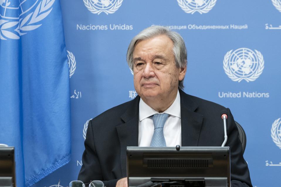 23 Oct: UN Secretary-General Antonio Guterres conducts press encounter at UN Headquarters.