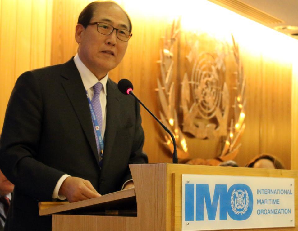 IMO Secretary General, Kitack Lim