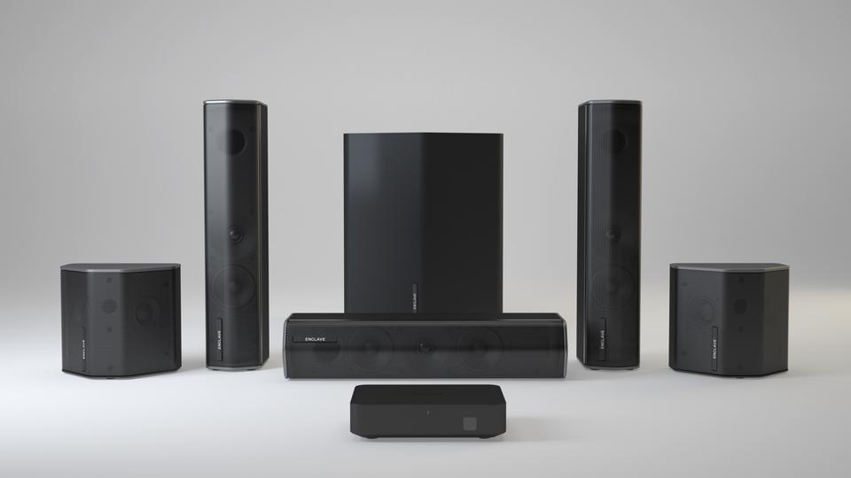 Enclave CineHome II speakers
