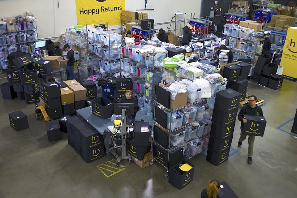 Happy Returns (company) returns warehouse
