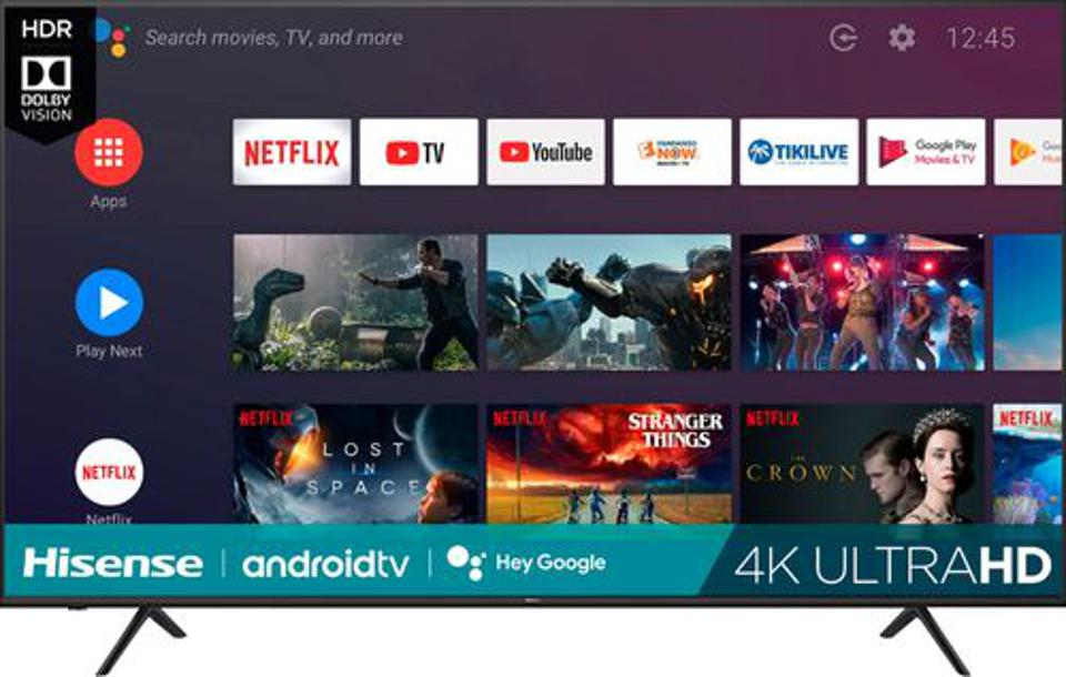 Hisense H65 Series Smart Android TV