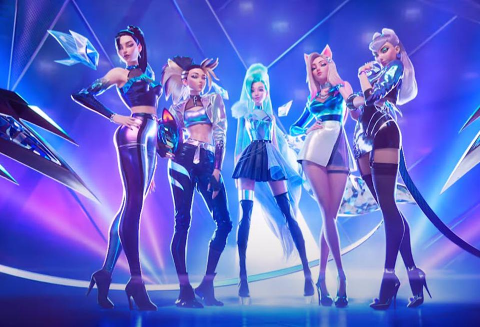 League Of Legends' Sets YouTube On Fire With New K/DA 'More' Music Video,  Starring New Member