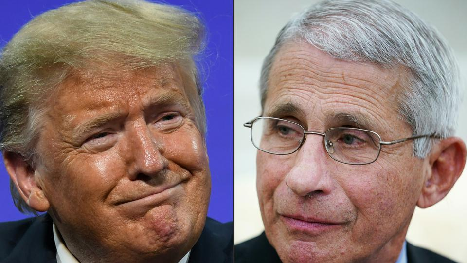 COMBO-US-POLITICS-TRUMP-HEALTH-VIRUS-FAUCI