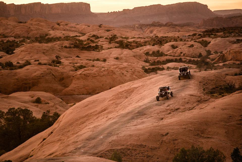 Off-roading in Moab, Utah