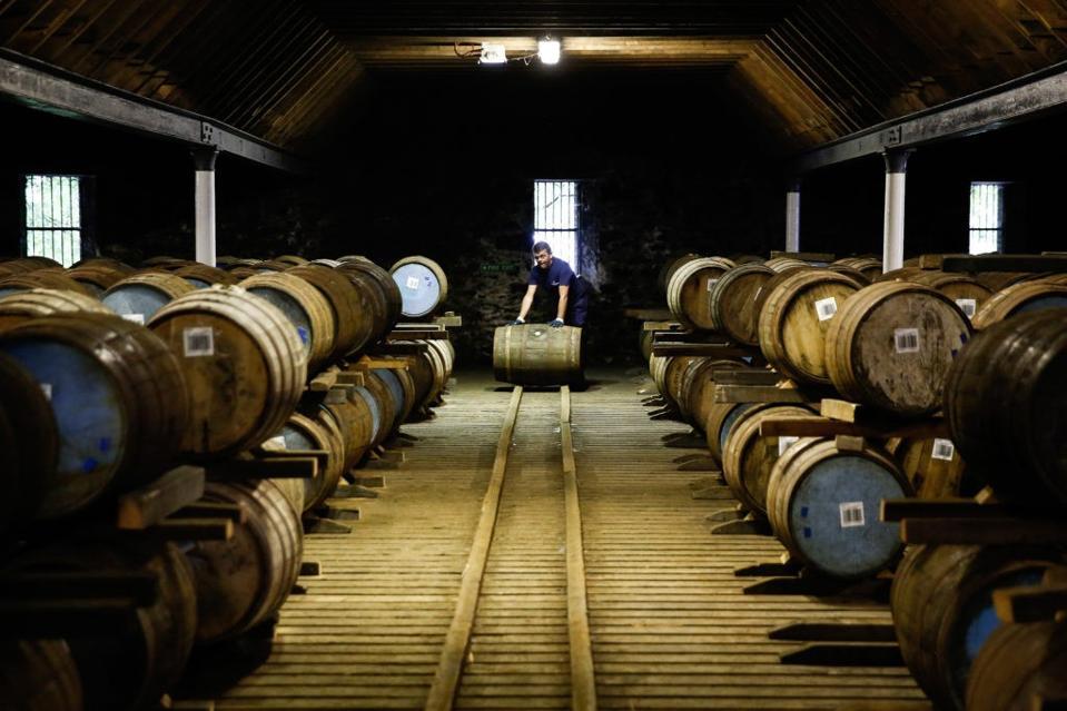 whiskey casks