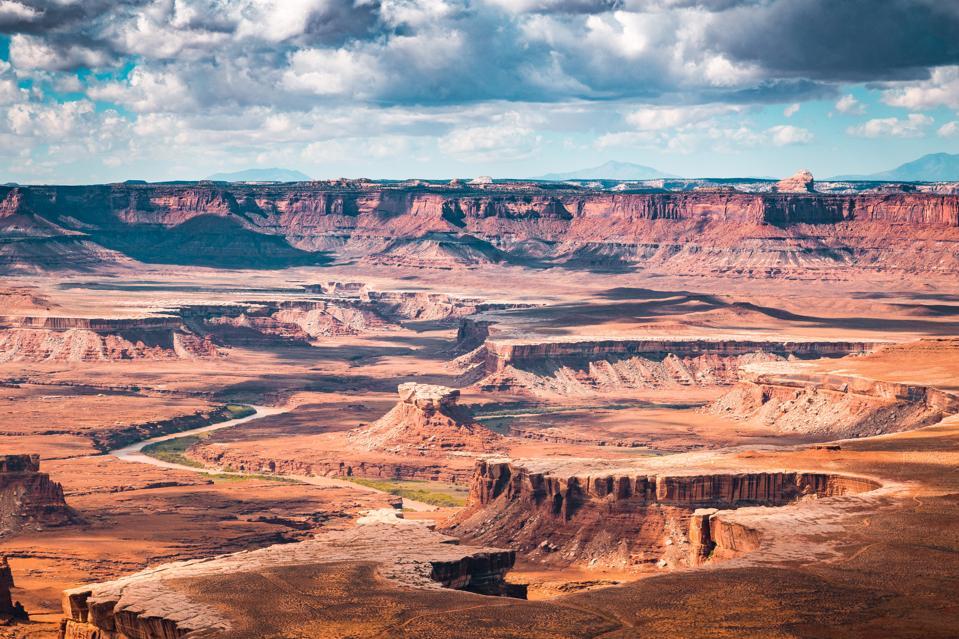 Green River overlook in Canyonlands National Park, Utah