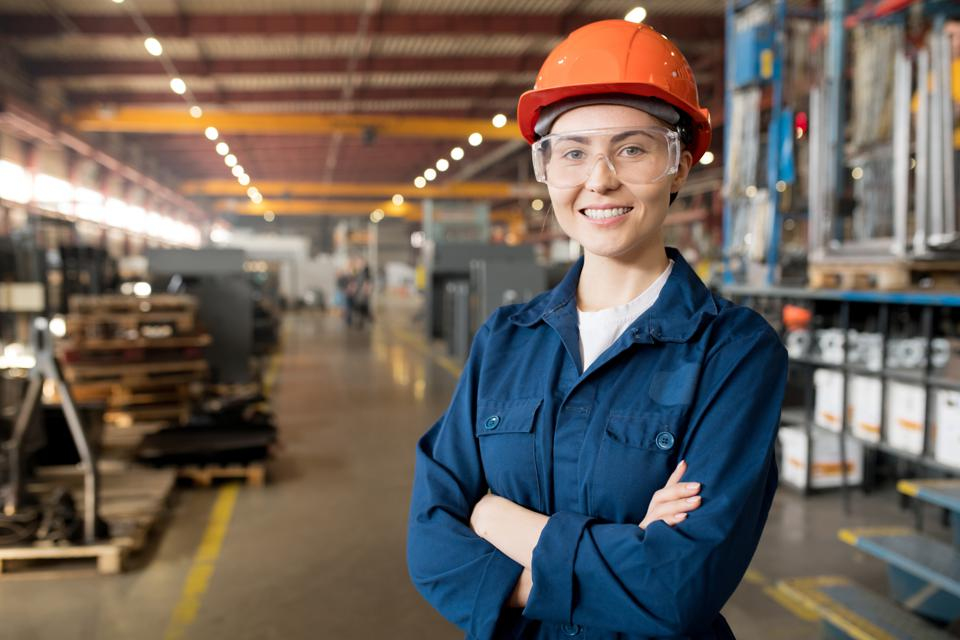 Machining, controller, manufacturing, advanced manufacturing facility, young woman, factory, career, skills gap