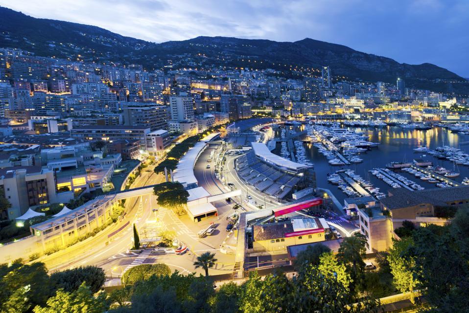 Monaco Harbour, Grand Prix