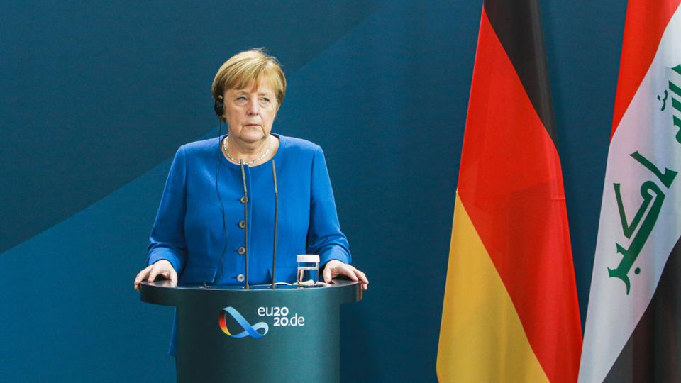 Merkel Meets Iraqi Prime Minister Mustafa Al-Kadhimi