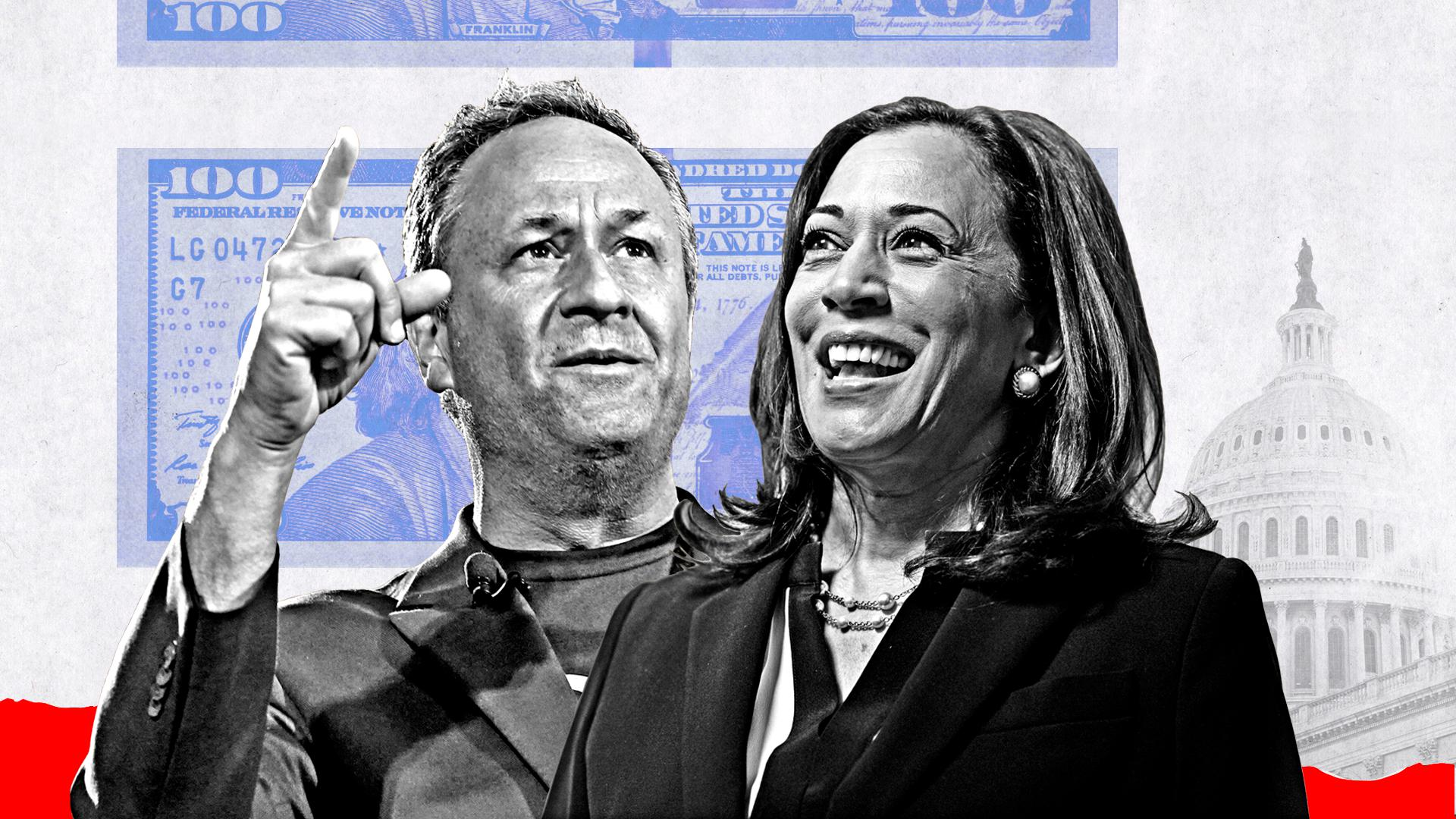 Kamala Harris and Doug