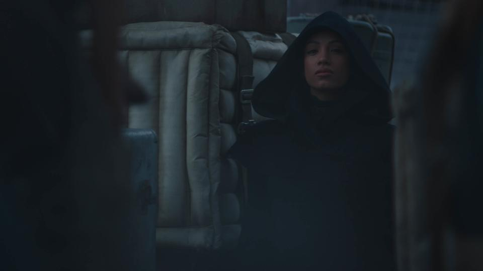 Sasha Banks in ″The Mandalorian″ Season 2.