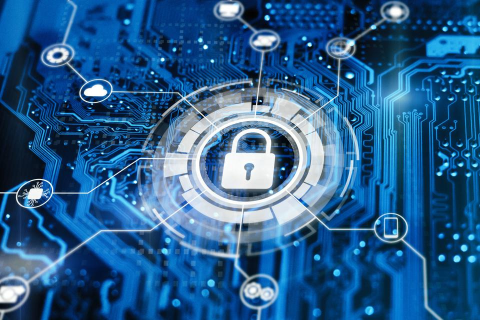 Cybersecurity and secure nerwork concept.