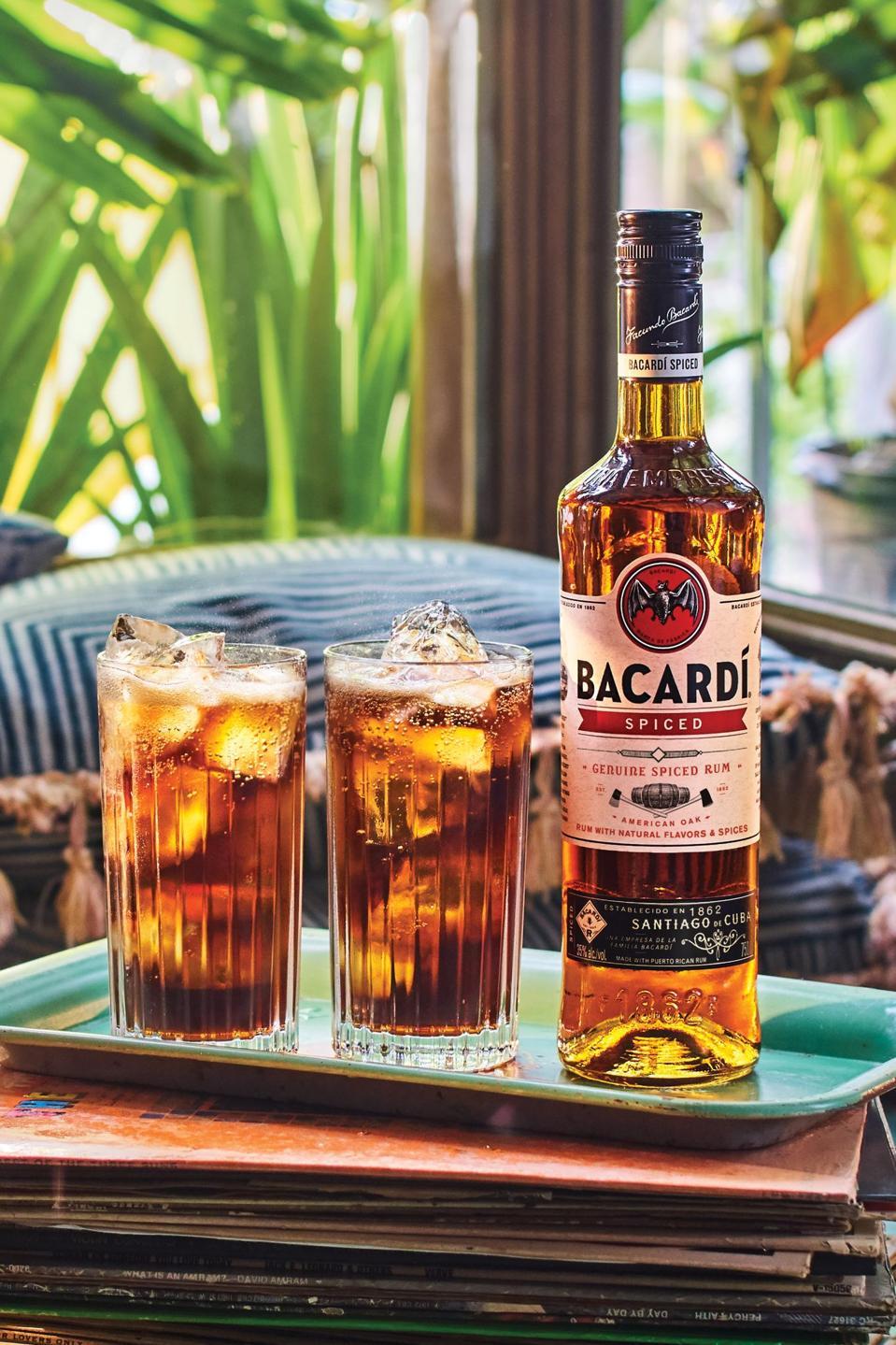BACARDÍ now offers a spiced rum.