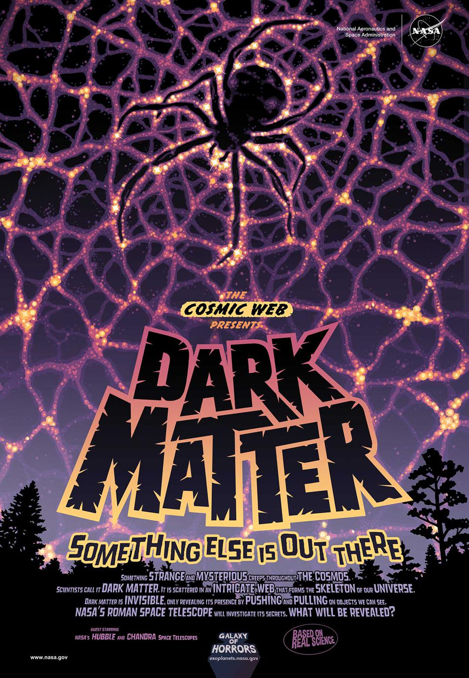 vintage style movie poster ″Dark Matter: Something else is out there″