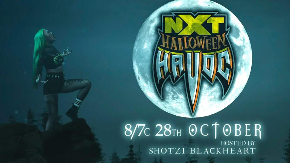 WWE NXT Halloween Havoc results, winners, news and notes.