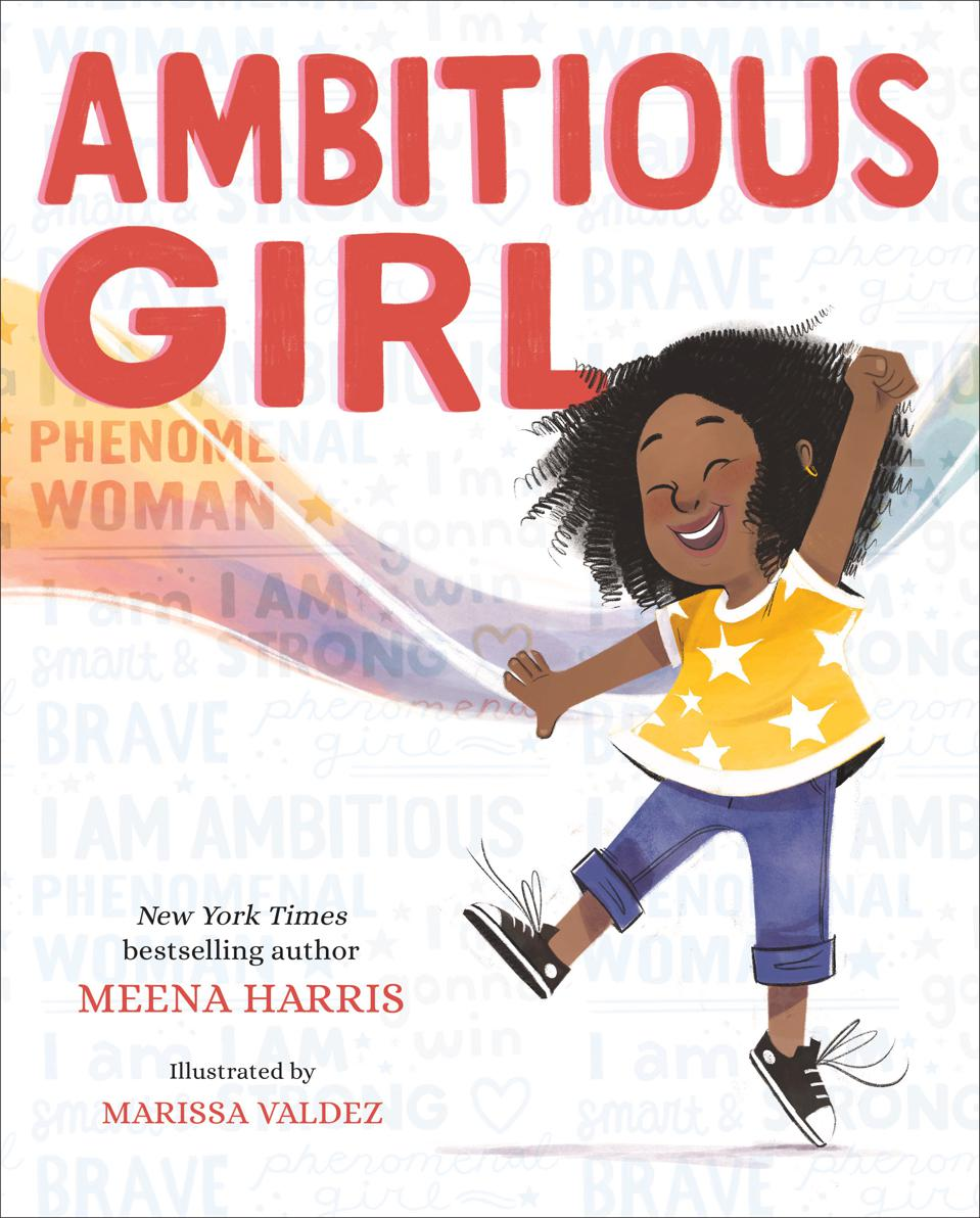 Meena Harris's newest book, ″Ambitious Girl.″