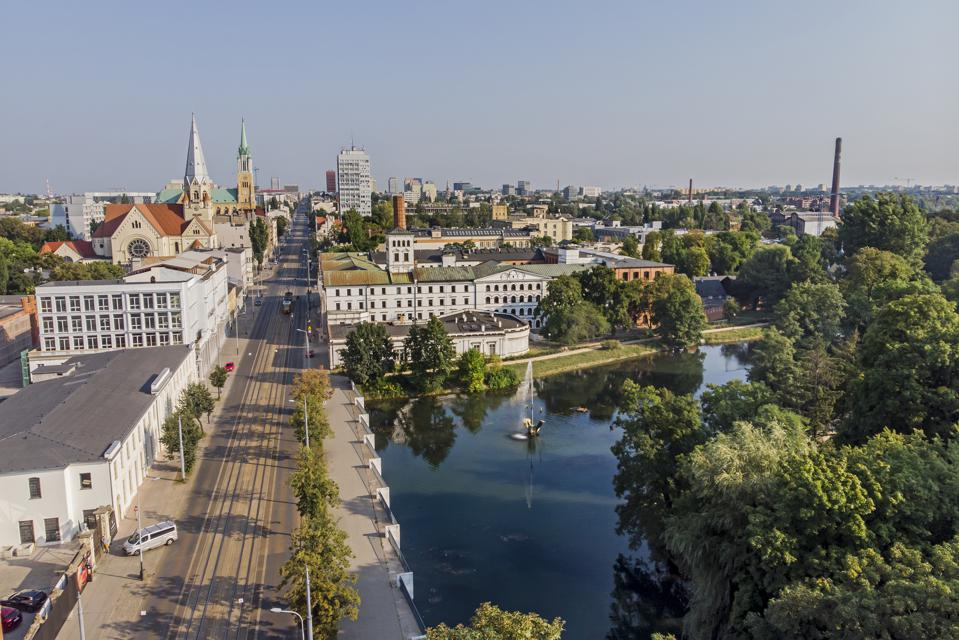 City of Lodz, Poland.  leave the united states