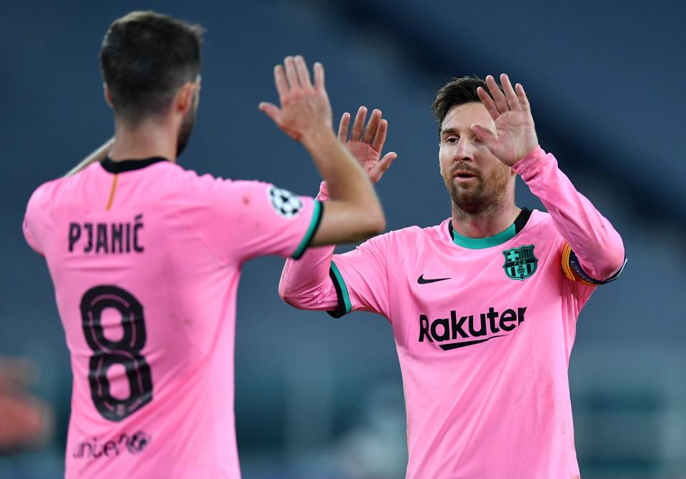 talking points from fc barcelona s 2 0 champions league win over juventus champions league win over juventus