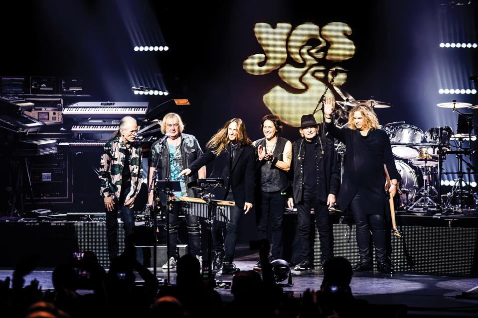 Yes Live At The Palladium, London