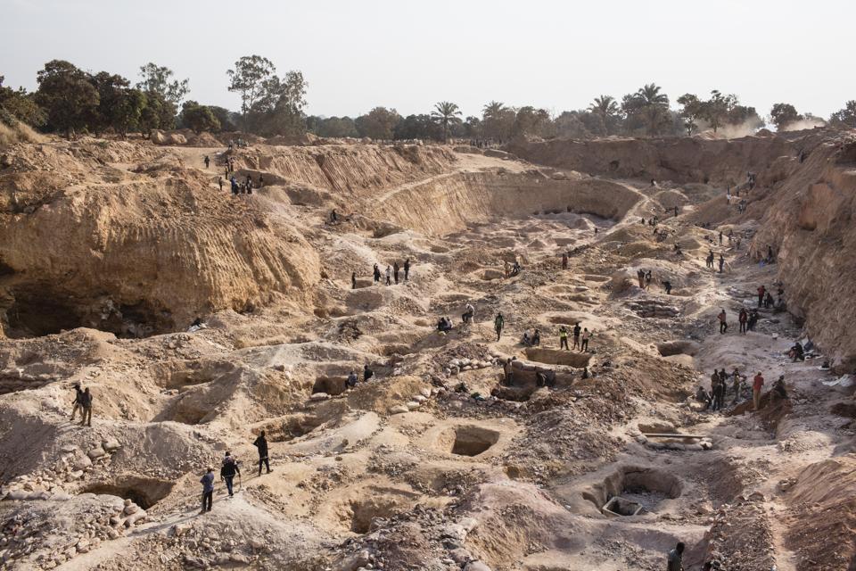 Cobalt Mining in Congo
