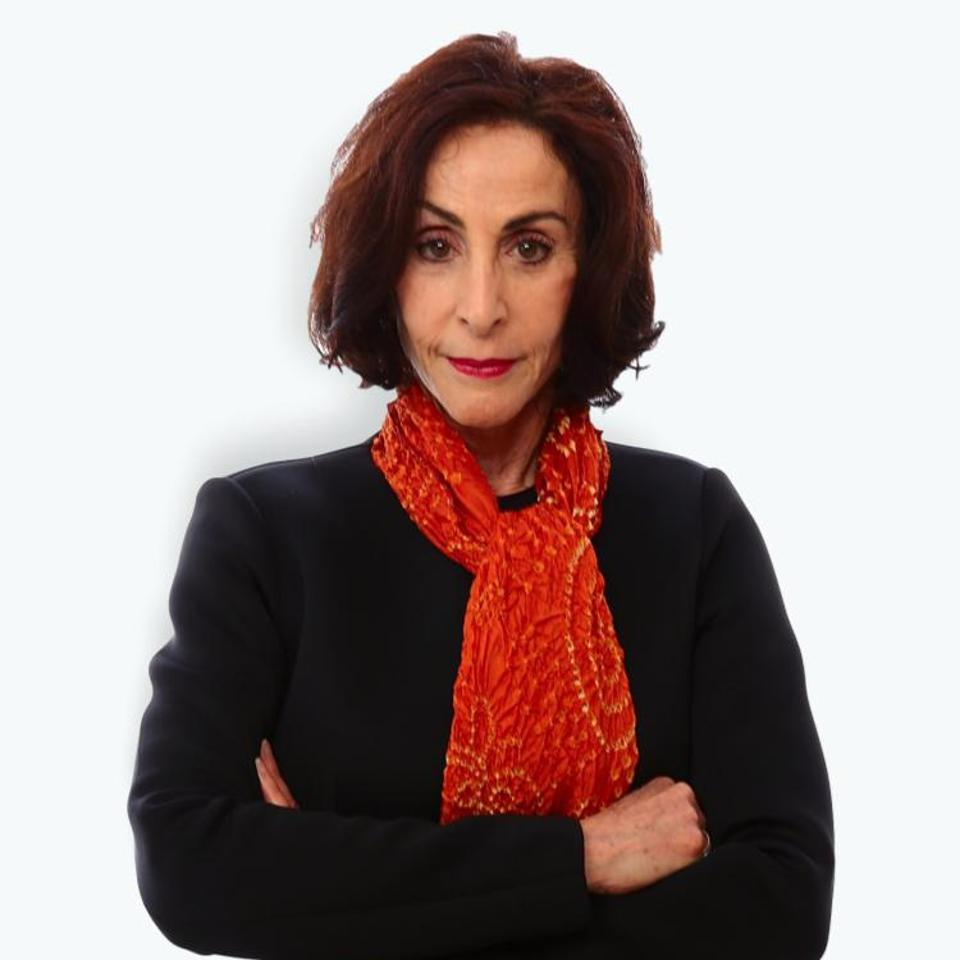 Picture of Beverly Parenti wearing red scarf