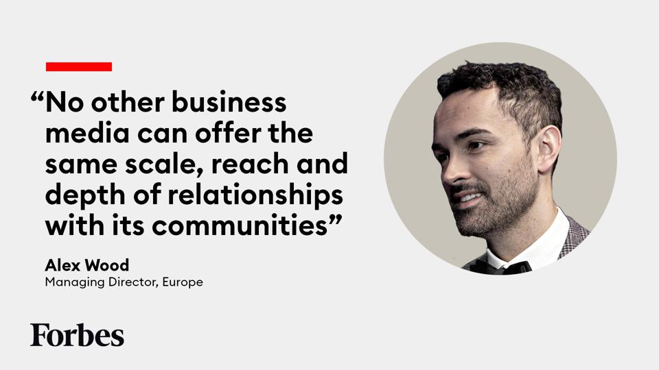 Alex Wood, Managing Director, Europe at Forbes