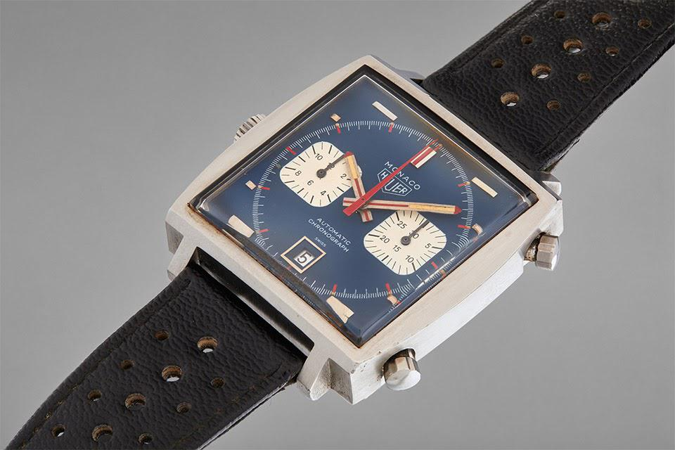 The Heuer Monaco watch gifted to Haig Alltounian by Steve McQueen on the set of Le Mans
