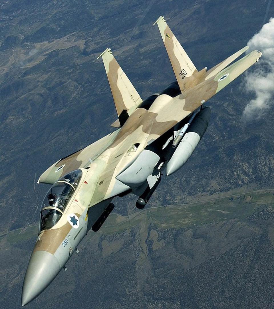 An IAF F-15I Ra'am of the No 69 ″Hammers″ Squadron.