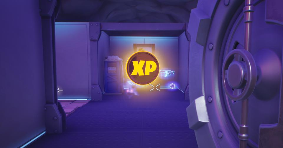 Fortnite Week 10 XP Coins