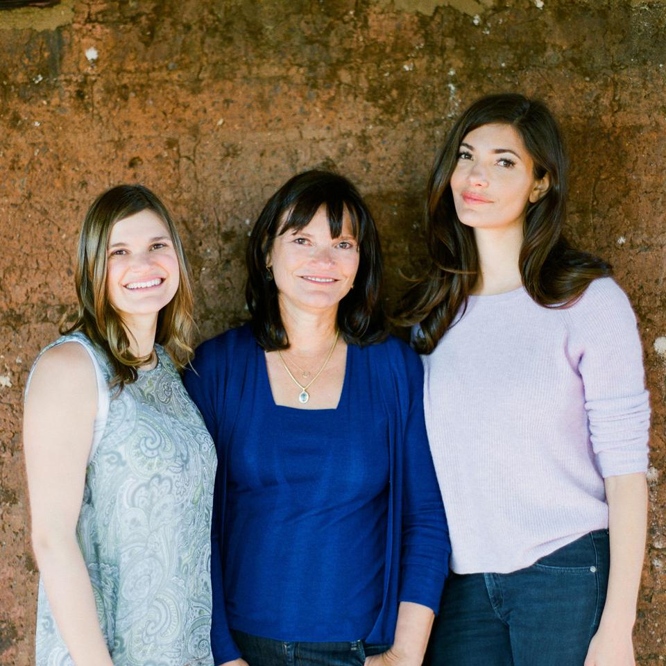 Barbara Banke and her two daughters Katie and Julia Jackson