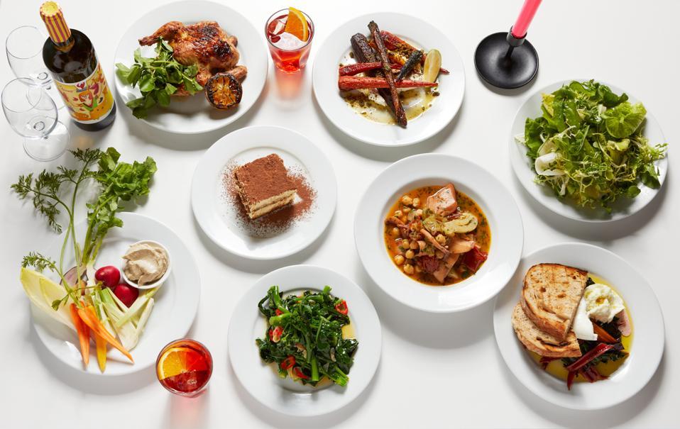 Dinner inspired by Jody Williams and Rita Sodi of I Sodi and Via Carota in New York